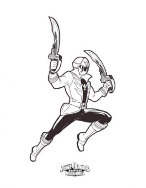 Power Rangers Coloring Pages for Kids 9mgf