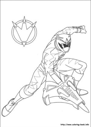 Power Rangers Dino Thunder Coloring Pages Online