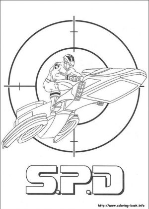 Power Rangers S.P.D. Coloring Pages