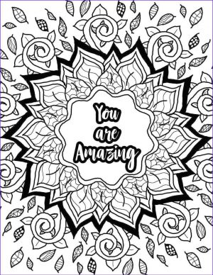 Printable Adult Coloring Pages Quotes