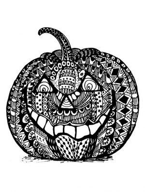 Pumpkin Coloring Pages for Adults Free – ta84n