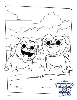 Puppy Dog Pals Coloring Pages Free 6trf
