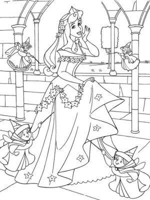 Sleeping Beauty Coloring Pages Free to Print – 2hddl