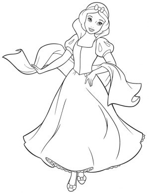 Snow White Coloring Pages Princess Printables – m78bn