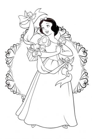 Snow White Coloring Pages Princess Printables – yvb58