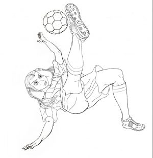 Soccer Coloring Pages Kids Printable – 84021