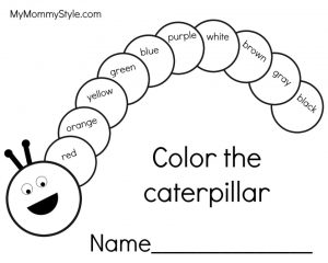 The Very Hungry Caterpillar Coloring Pages Free for Kids – 16801