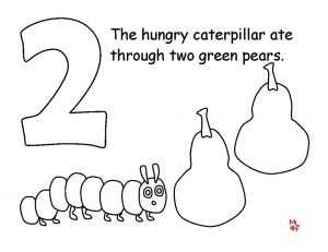 The Very Hungry Caterpillar Coloring Pages Free for Kids – 21845