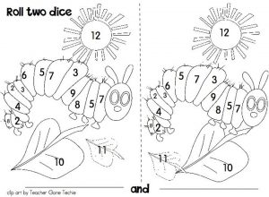 The Very Hungry Caterpillar Coloring Pages Free for Kids – 77581