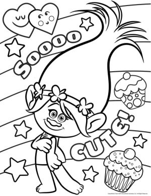 Trolls Coloring Pages