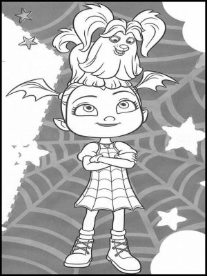 Vampirina Coloring Pages Free to Print