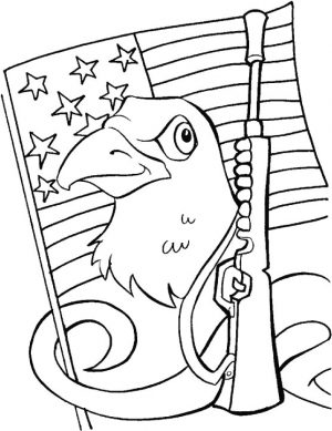 Veteran's Day Coloring Pages for Preschool – 4xb74