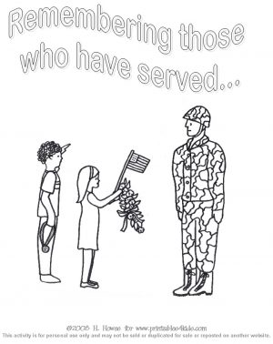 Veteran's Day Coloring Pages for Preschool – v6jf9