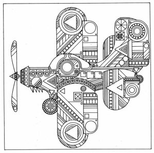 Abstract Adult Coloring Sheets to Print Out   31423