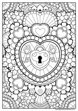 Abstract Coloring Pages to Print Online   31784