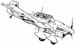 Airplane Coloring Pages for Adults   9bn1a