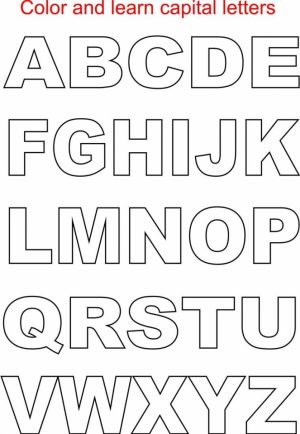 Alphabet Coloring Pages for Kids   50784