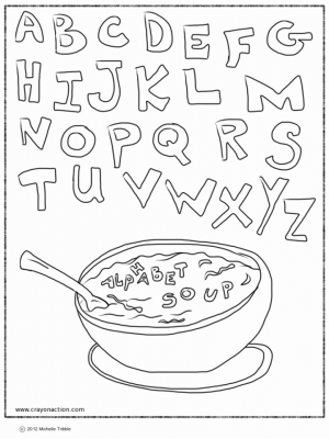 Alphabet Coloring Pages for Kids   83071