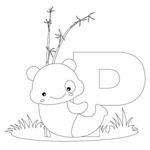 Alphabet Coloring Pages Kids Printable   12154