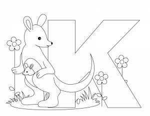 Alphabet Coloring Pages Kids Printable   36578