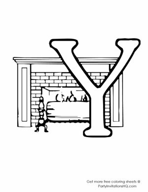 Alphabet Coloring Pages Online Educational Printable   54527