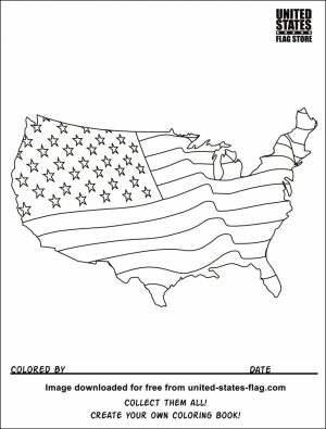 American Flag Coloring Pages Kids Printable   56741