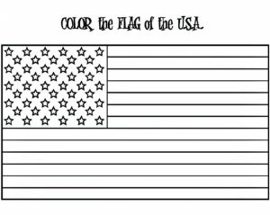 American Flag Coloring Pages to Print for Kids   63819