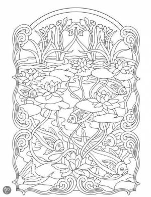 Art Deco Patterns Coloring Pages for Adults Free to Print   wrt6788u