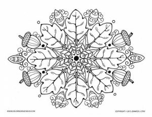 Autumn Coloring Pages for Adults Free Printable   1by6c7