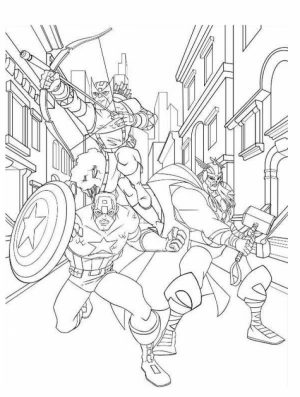 Avengers Coloring Pages Boys Printable   31453