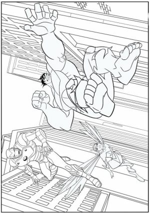 Avengers Coloring Pages Free to Print   08601