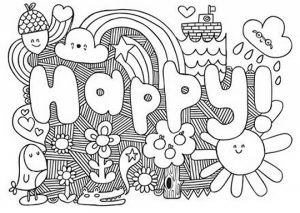 Awesome Coloring Pages Printable for Kids   WY71R