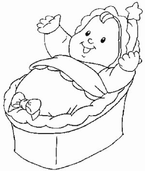 Baby Coloring Pages Printable   5471k