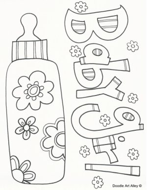 Baby Coloring Pages to Print   61730