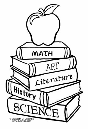 Back to School Coloring Pages Free   85hg1