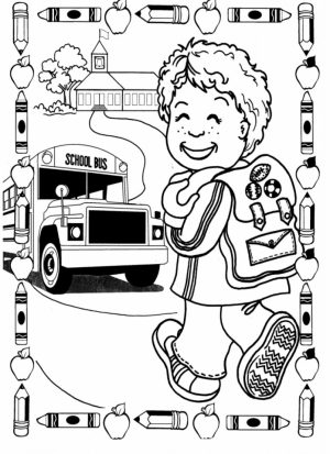 Back to School Coloring Pages Free to Print   61ab5