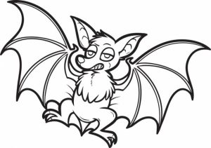 Bat Coloring Pages to Print   17591