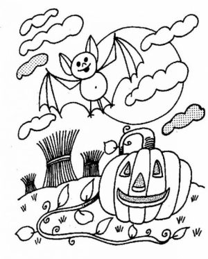 Bat Coloring Pages to Print   21673