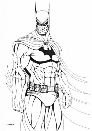 Batman Coloring Pages for Kids   618WA