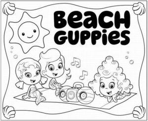 Bubble Guppies Coloring Pages Free Printable   606698