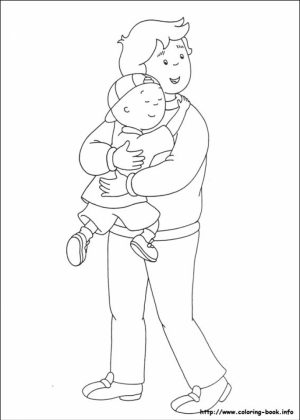 Caillou Coloring Pages Free Printable   jcaj29