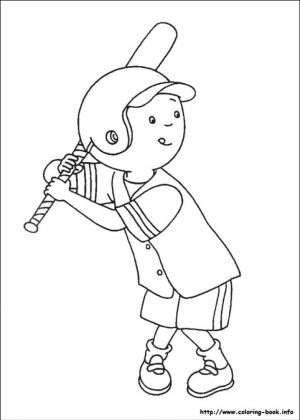 Caillou Coloring Pages Free Printable   p3frm