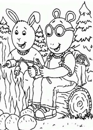 Camping Coloring Pages Free Printable   75185