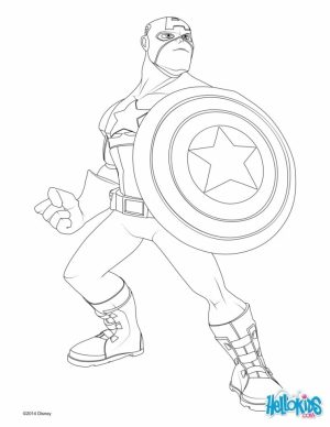 Captain America Coloring Pages Free to Print   31524