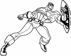Captain America Coloring Pages Marvel Avengers   67481