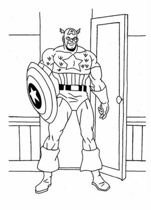 Captain America Coloring Pages Winter Soldier   30673