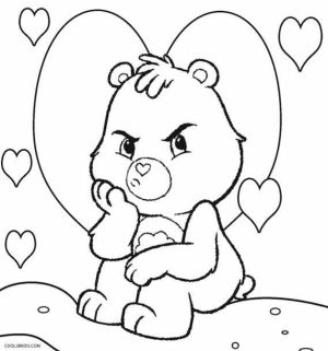 Care Bear Coloring Pages to Print Online   lj8rr