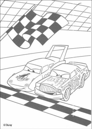Cars Coloring Pages Disney Printable for Kids   87341