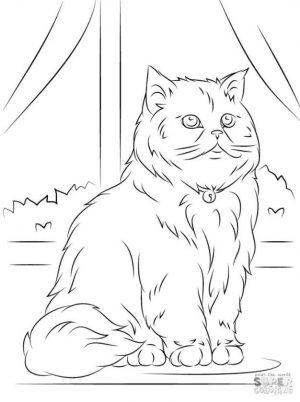 cat coloring pages fgu71