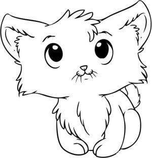 cat coloring pages for kids 7fg50